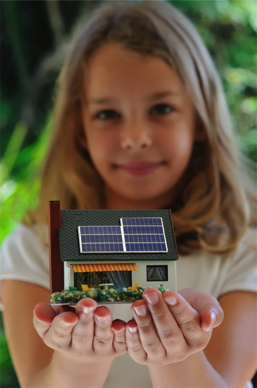Solar panels for residential projects