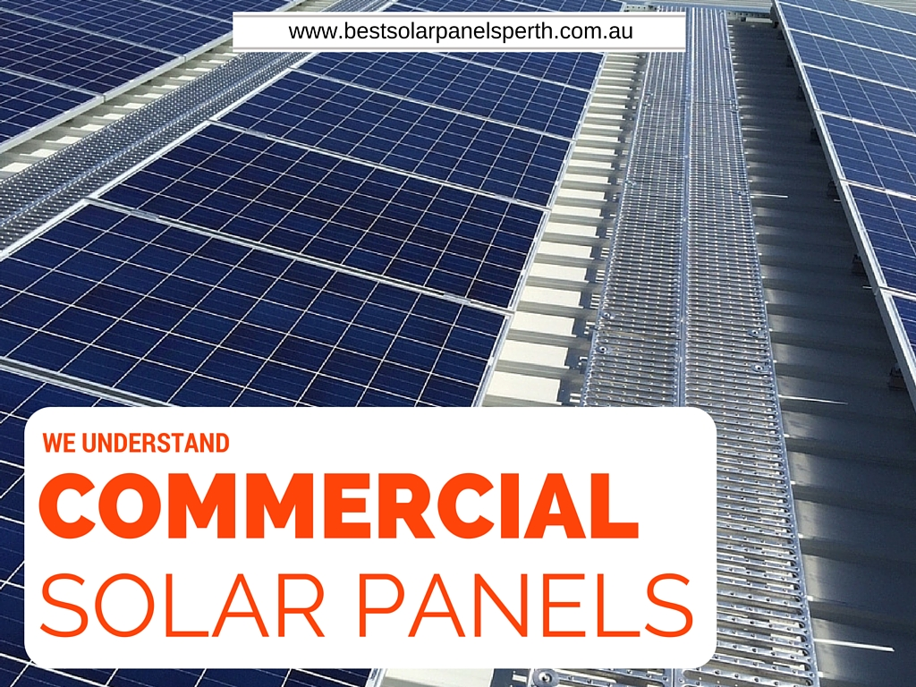 We Understand Commercial Solar Panels